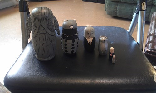 doctor who nesting dolls - 8217416192