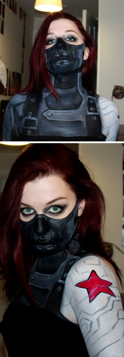 cosplay winter soldier - 8217457664