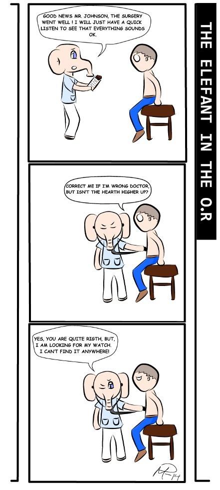 watches elephants doctors surgery web comics - 8217840384