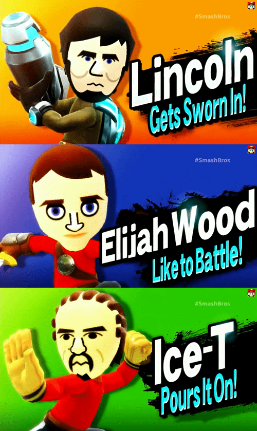 E32014 super smash bros mii fighters - 8217952768