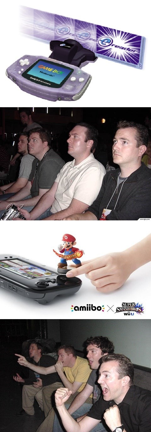 NFC amiibo Memes reaction guys - 8217969664