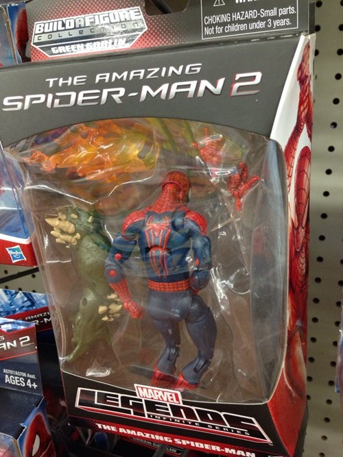 action figures sexy alone times Spider-Man