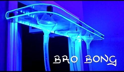kickstarter bros beer bong funny black light - 8218181888