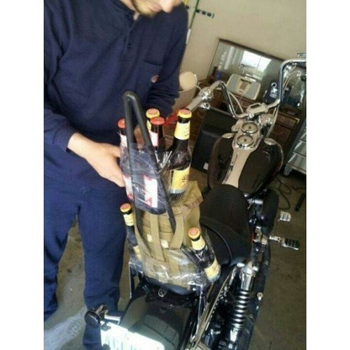 beer,motorcycle,duct tape,funny