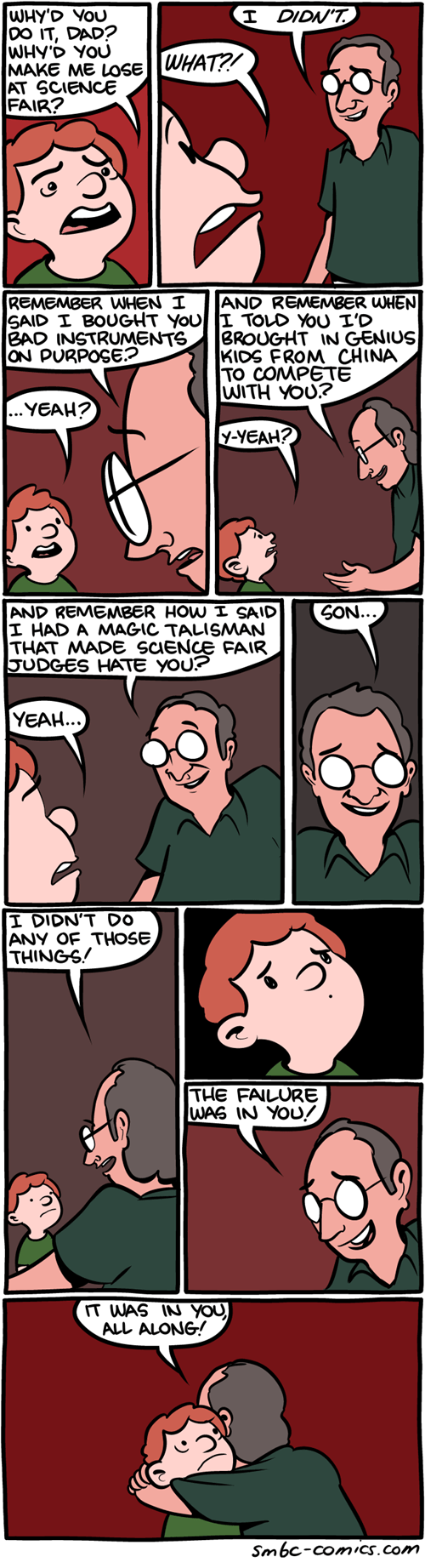dads,failure,school,kids,science,web comics