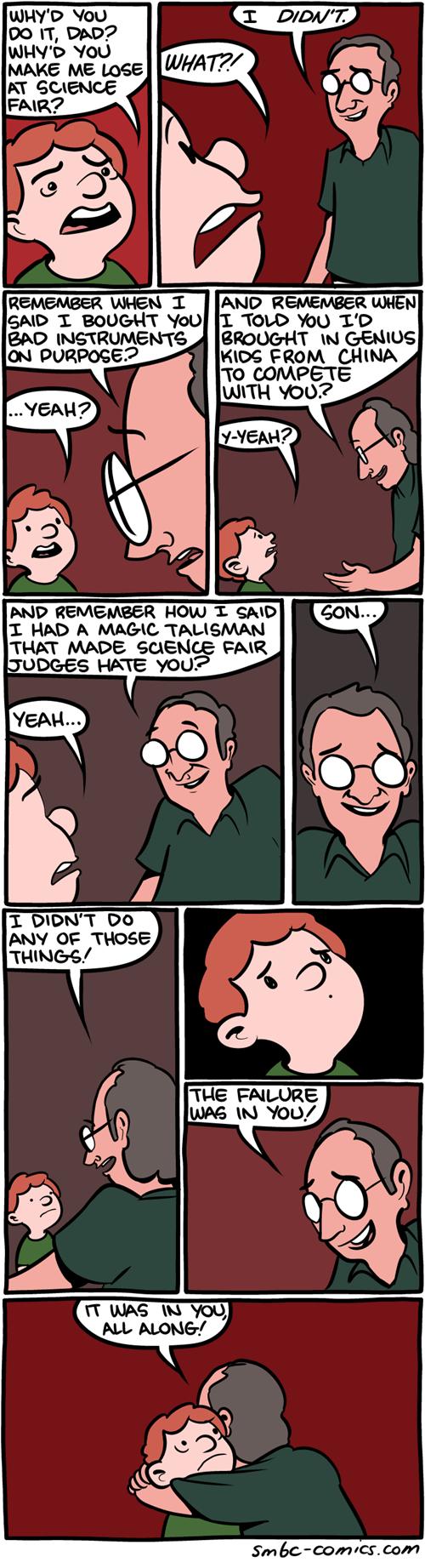 dads failure school kids science web comics - 8218295552
