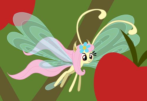 fluttershy flutterbat breezie - 8218442496