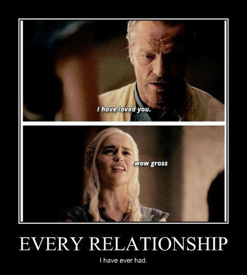 relationship Game of Thrones funny