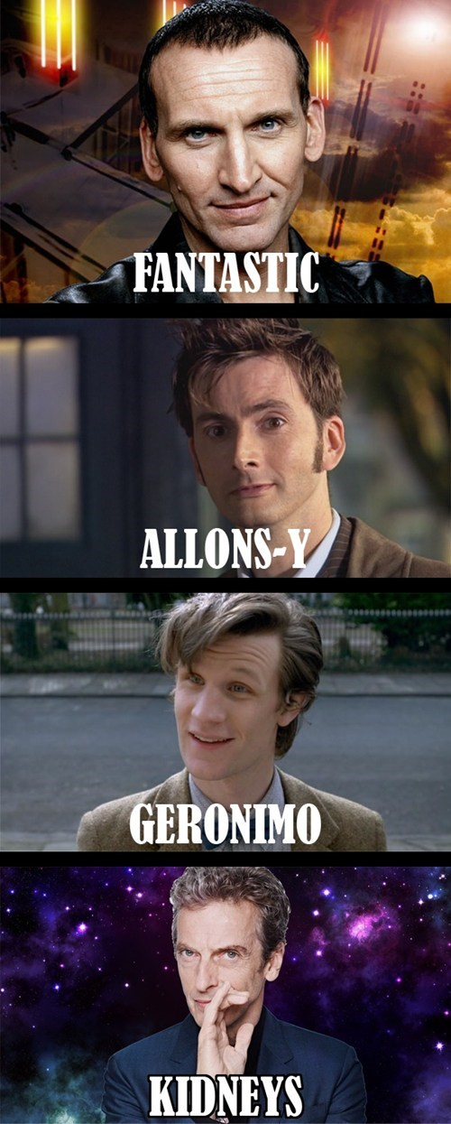 12th Doctor catchphrase geronimo allons y - 8218775552