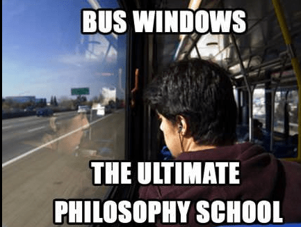 school bus,windows,philosophy,funny