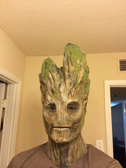 guardians of the galaxy practical groot - 8219176448