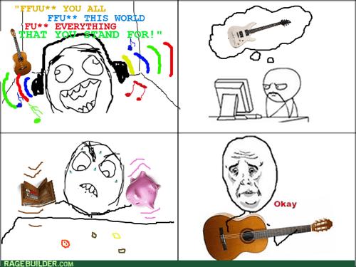 guitar Music broke Okay - 8219205376