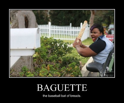 baseball bat baguette community funny - 8219217920