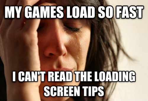 First World Problems video games