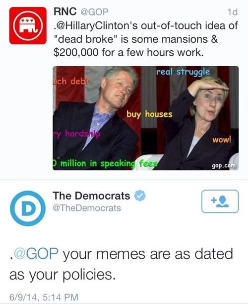 Republicans twitter doge Hillary Clinton politics - 8219275264