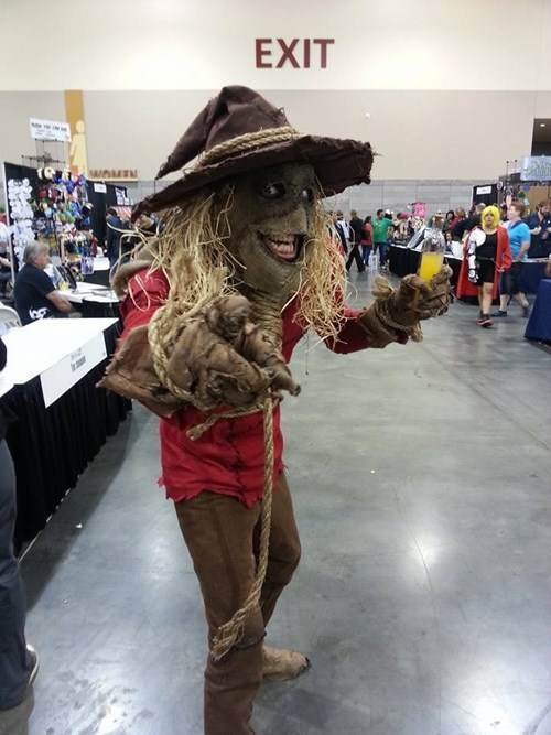 cosplay convention scarecrow batman - 8219296256