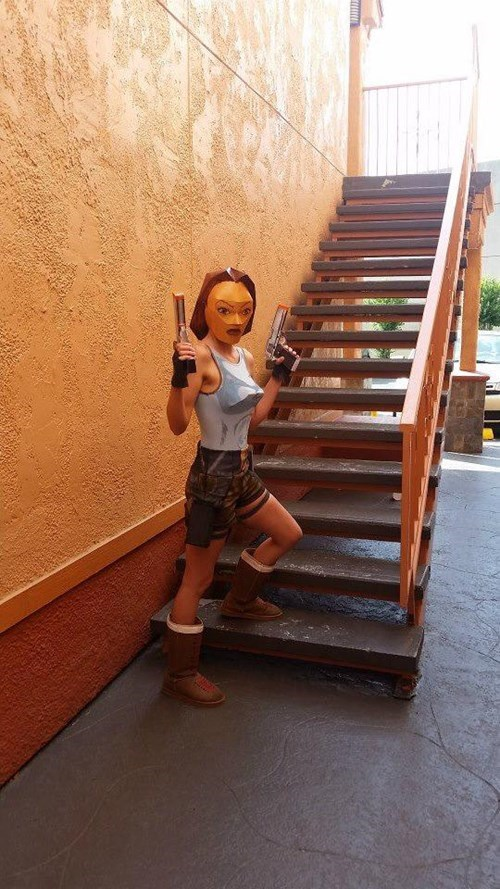 lara croft,cosplay,IRL
