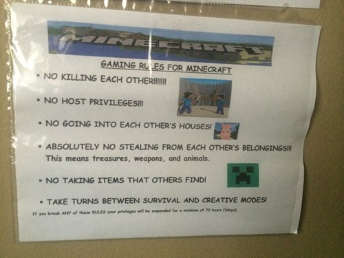 gamers parenting minecraft video games - 8219346944