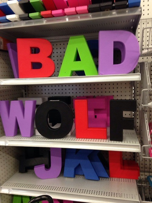 jokes Whovian bad wolf