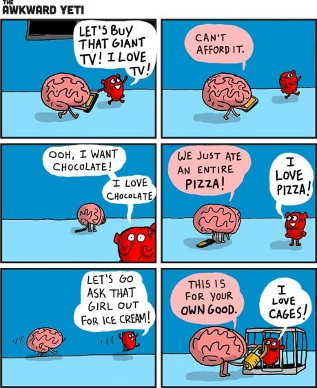 cages brains hearts web comics