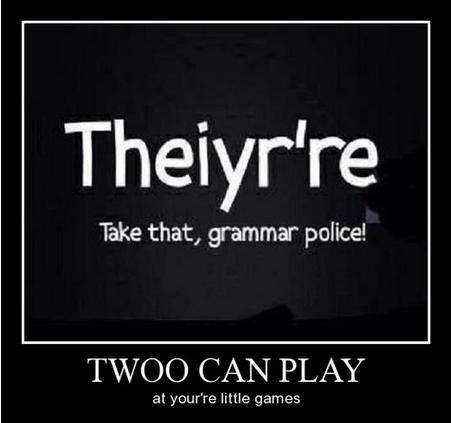 grammar,grammar police