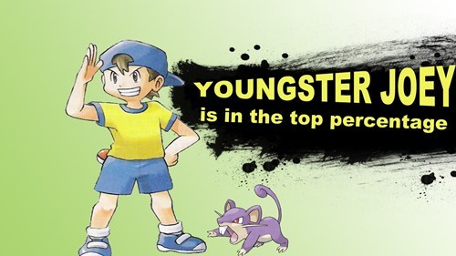 youngster joey,super smash bros