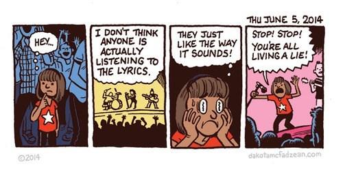 Music lyrics web comics - 8220232192