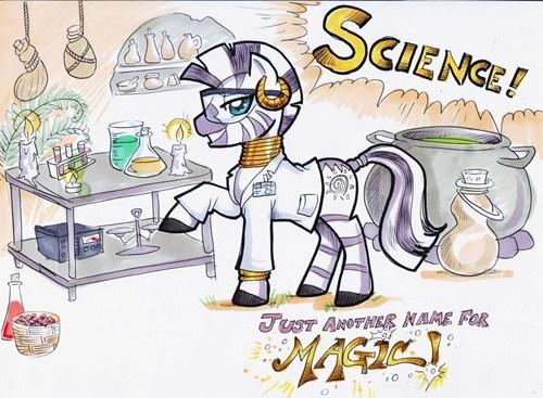 Fan Art,science,zecora