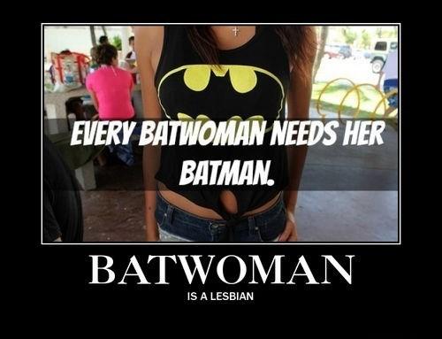 batwoman batman sexy times funny - 8220376320
