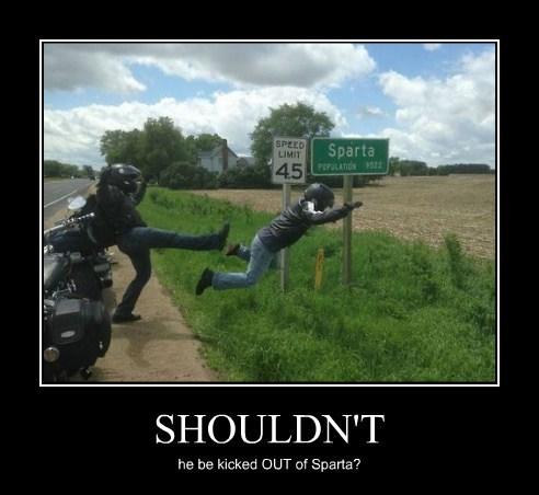 sparta motorcycle funny - 8220377088