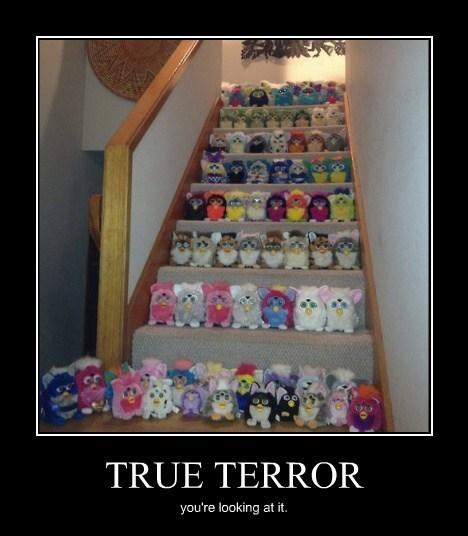 scary terror furbee creepy funny - 8220377344