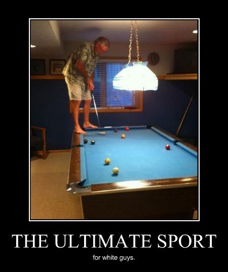 sports golf pool white people funny putting