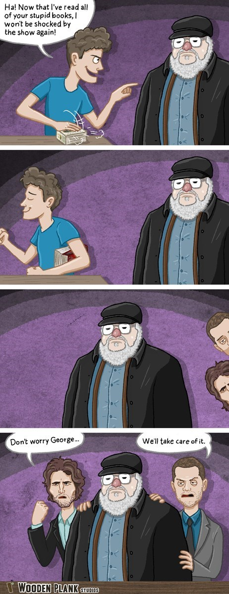 grrm Game of Thrones spoilers web comics - 8220483840