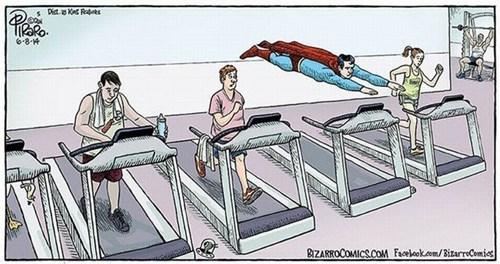 treadmill superman web comics - 8220561664