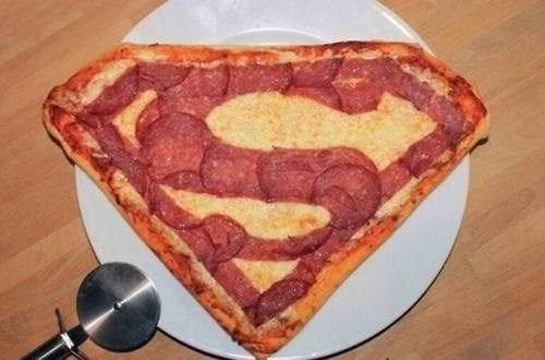 superman pizza - 8220588288