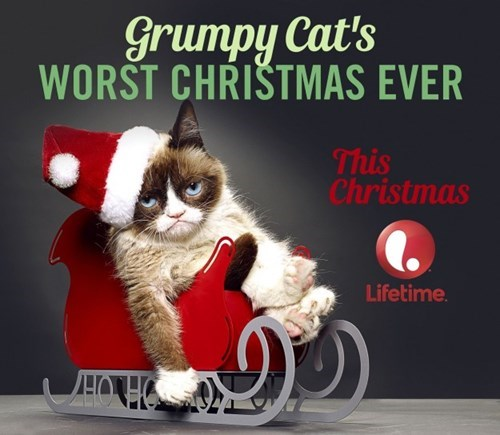christmas,TV,lifetime,worst christmas ever,Grumpy Cat