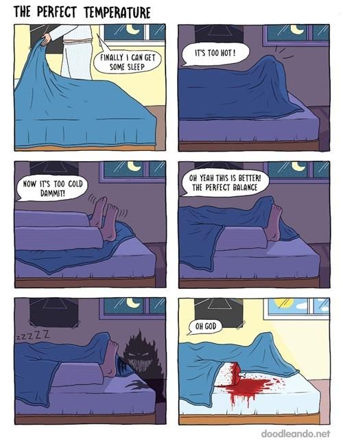 fear monster sleeping web comics - 8220651520