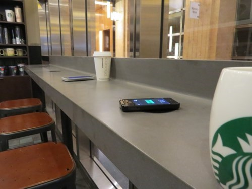 chargers,Starbucks,innovation