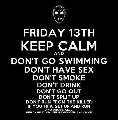 friday the 13th jason keep calm - 8221571072