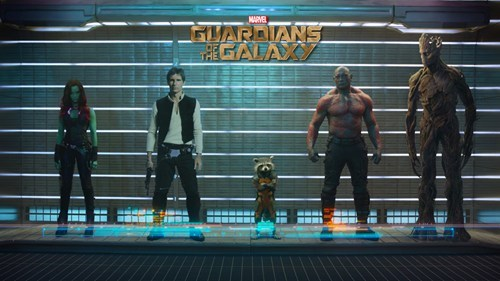 Han Solo guardians of the galaxy