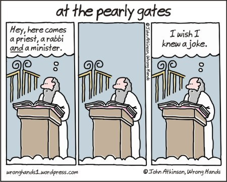 heaven jokes pearly gates web comics - 8221645312