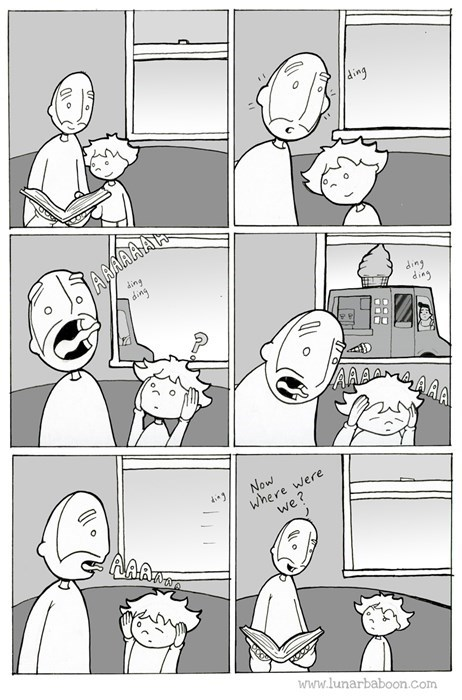 kids ice cream parenting web comics - 8221647616