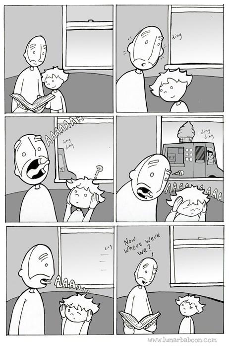 kids ice cream parenting web comics - 8221647616