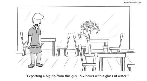 tips,trees,plants,water,waiter,web comics