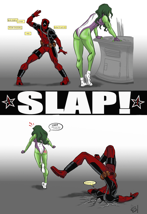 deadpool,she hulk