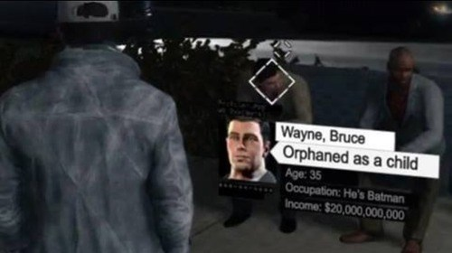watch dogs bruce wayne - 8221744640