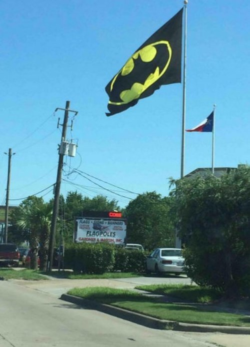 monday thru friday,batman,flag