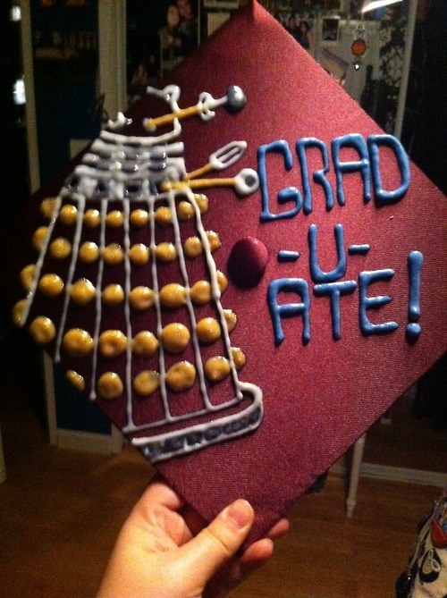 daleks Exterminate graduation