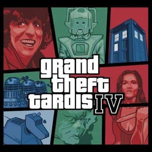 4th doctor doctor who Grand Theft Auto tshirts classic who