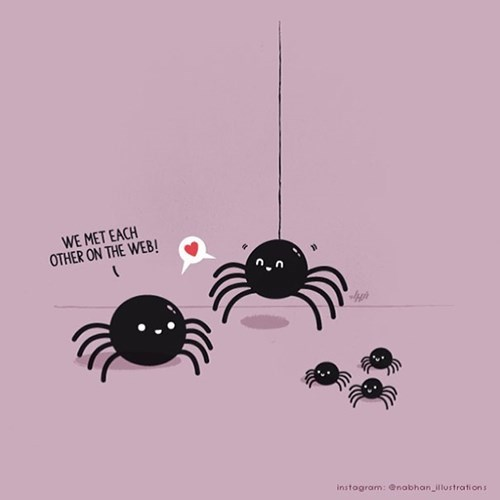 spiders,wtf,online dating,funny